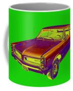 1966 Pointiac Lemans Car Pop Art Coffee Mug