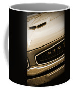 1966 Pontiac Gto In Sepia Coffee Mug