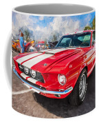 1967 Ford Shelby Mustang Gt500 Painted  Coffee Mug