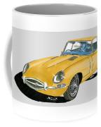 1967 Jaguar X K E Coupe Coffee Mug