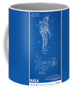 1967 Nasa Astronaut Ventilated Space Suit Patent Art 1 Coffee Mug