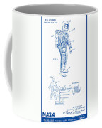 1967 Nasa Astronaut Ventilated Space Suit Patent Art 2 Coffee Mug