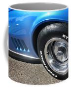 1968 Corvette Sting Ray - Blue - Side - 8923 Coffee Mug
