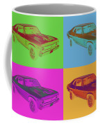 1969 Chevrolet Nova Yenko 427 Muscle Car Pop Art Coffee Mug