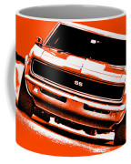 1969 Chevy Camaro Ss - Orange Coffee Mug