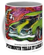 1969 Plymouth 'cuda 340 Coffee Mug