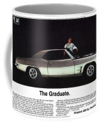 1969 Pontiac Firebird 400 - The Graduate Coffee Mug