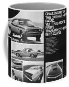 1970 Dodge Challenger T/a Coffee Mug