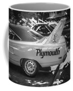 1970 Plymouth Road Runner Hemi Super Bird Bw Coffee Mug