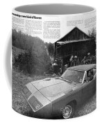 1970 Plymouth Superbird - Announcing A New Kind Of Runner Coffee Mug
