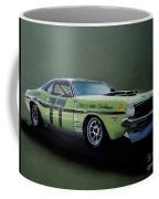 1970's Challenger Race Car Coffee Mug