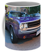 1971 Challenger Front And Side View Coffee Mug