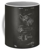 1972 Chris Craft Boat Patent Artwork - Gray Coffee Mug