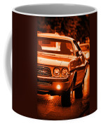 1972 Dodge Challenger In Orange Coffee Mug