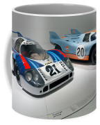 1972 Porsche 917 Lh Coupe And 1970 Porsche 917 Kh Coupe Coffee Mug