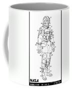 1973 Nasa Astronaut Space Suit Patent Art 3 Coffee Mug