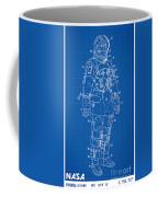 1973 Nasa Astronaut Space Suit Patent Art Coffee Mug
