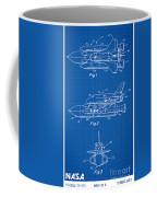 1975 Nasa Space Shuttle Patent Art 1 Coffee Mug