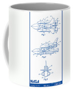 1975 Nasa Space Shuttle Patent Art 2 Coffee Mug