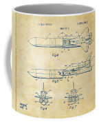 1975 Space Vehicle Patent - Vintage Coffee Mug