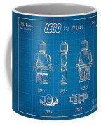 1979 Lego Minifigure Toy Patent Art 1 Coffee Mug
