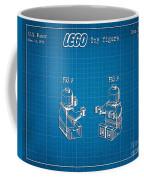 1979 Lego Minifigure Toy Patent Art 3 Coffee Mug