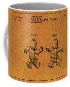 1979 Lego Minifigure Toy Patent Art 5 Coffee Mug