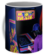 1980s Anonymous Teen Girl Wear Baseball Coffee Mug