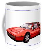 Ferrari 328 G T S 1986 Coffee Mug