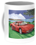 1987 Ferrari Testarosa  Coffee Mug