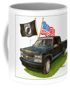 1988 Chevrolet M I A Tribute Coffee Mug by Jack Pumphrey