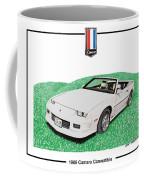 1989 Camaro Convertible Coffee Mug