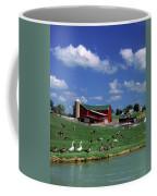 1990s Amish Family Farm Bunker Hill Coffee Mug