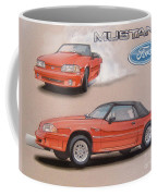 1991 Ford Mustang Coffee Mug