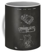 1993 Nintendo Game Boy Patent Artwork - Gray Coffee Mug