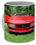 1993 Red Ferrari 512 Tr Coffee Mug