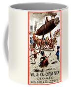 19th C. Vintage Grand Cigar Coffee Mug
