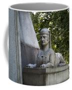 19th Century Granite Stone Sphinx Pyramid Color Poster Look Usa Coffee Mug