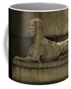 19th Century Granite Stone Sphinx Sepia Profile Poster Look Usa Coffee Mug