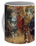 Alaskan Malamute Art Canvas Print Coffee Mug