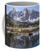 Cirque Of The Towers In Lonesome Lake 4 Coffee Mug