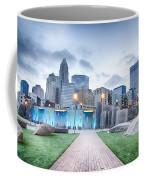 New Romare-bearden Park In Uptown Charlotte North Carolina Earl Coffee Mug