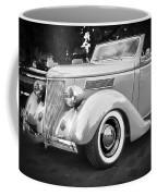 1936 Ford Cabriolet Bw  Coffee Mug