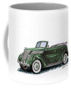 1937 Ford 4 Door Convertible Coffee Mug