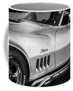 1969 Chevrolet Corvette 427  Bw Coffee Mug