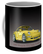 1997 Porsche  993 Twin Turbo Coffee Mug