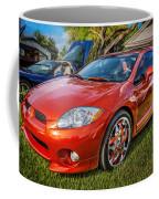 2006 Mitsubishi Eclipse Gt V6 Painted Coffee Mug