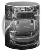 2013 Ford Mustang Gt Cs Painted Bw Coffee Mug
