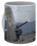 A Close-in Weapons System Is Fired Coffee Mug