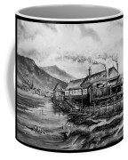 A Day At The Seaside Coffee Mug by Andrew Read